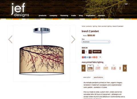 jef designs shop